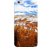 Bryce Canyon near Zion iPhone Case/Skin