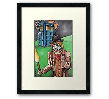 F*** Dr. Who Framed Print