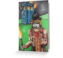 F*** Dr. Who Greeting Card