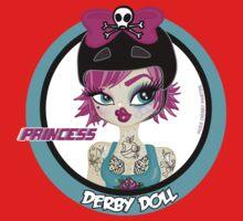 Princess Derby Doll One Piece - Short Sleeve