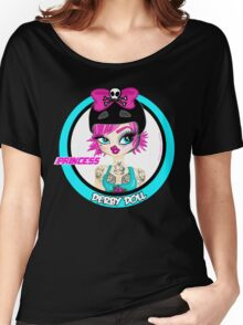 Princess Derby Doll Women's Relaxed Fit T-Shirt