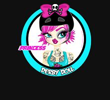 Princess Derby Doll Womens Fitted T-Shirt