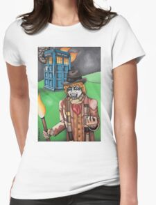 F*** Dr. Who Womens Fitted T-Shirt