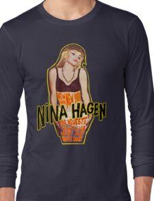 Nina Hagen - New York NY Long Sleeve T-Shirt