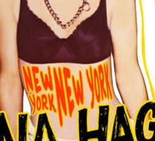 Nina Hagen - New York NY Sticker