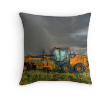 Grader on Wilber Throw Pillow