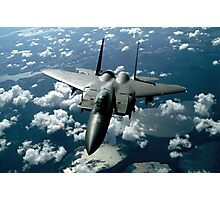 Fighter Jet Photograph Photographic Print