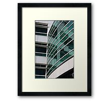 Reflections in the WIndows Framed Print