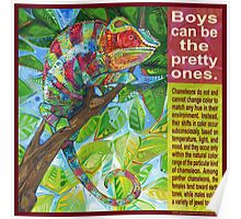 Up on the catwalk (Panther chameleon) Poster