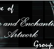 Eerie & Enchanting Artwork Group Banner by Flynnthecat