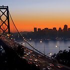 Sunset Over San Francisco by MattGranz