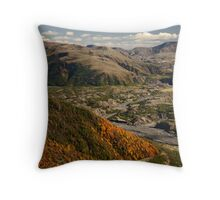 Mount St Helens Landscape Throw Pillow