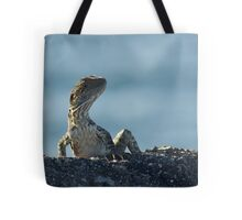 water dragon - australian lizard Tote Bag