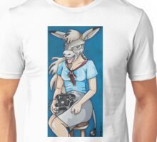 The Donkey Lady of San Antonio Unisex T-Shirt