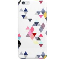 Mixed triangles iPhone Case/Skin