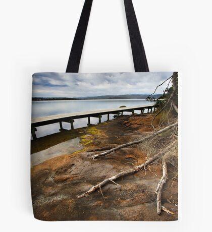 Merimbula Boardwalk Tote Bag