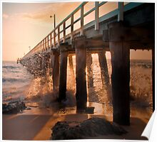 Point Lonsdale Pier Poster