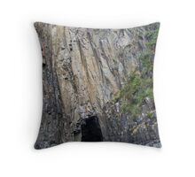A Mysterious Cave Throw Pillow
