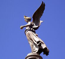 An angel,goddess of victory by daffodil
