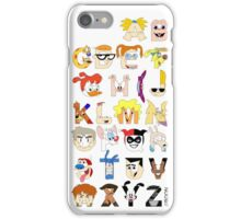 Child of the 90s Alphabet iPhone Case/Skin