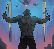Drax The Destroyer! by MattHaworth