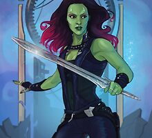 Gamora by MattHaworth