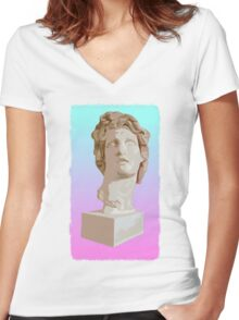 Mac+ Women's Fitted V-Neck T-Shirt