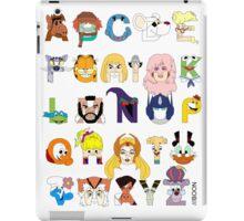 Child of the 80s Alphabet iPad Case/Skin