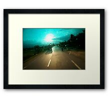 windscreen Framed Print