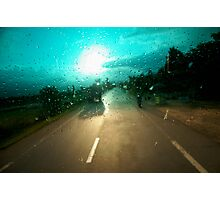 windscreen Photographic Print