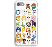 Child of the 80s Alphabet iPhone Case/Skin