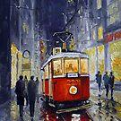 Prague Old Tram 06 by Yuriy Shevchuk