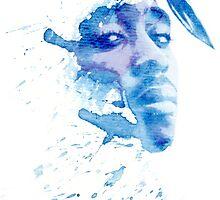 Tupac Shakur WC by mysticgypsy