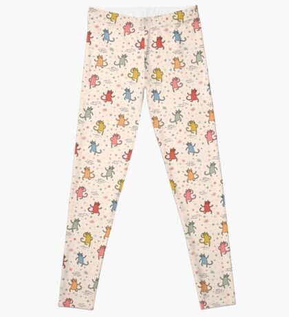 Dancing Cats. Leggings