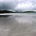 Sand Reflections, Isle of Harris Beach, Scotland by BlueMoonRose