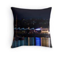 Night Lights - Hawkes Bay Throw Pillow