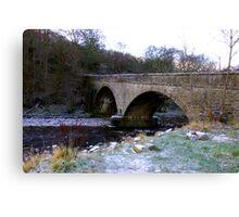 The Bridge at Gunnerside North Yorkshire Canvas Print
