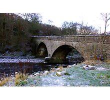 The Bridge at Gunnerside North Yorkshire Photographic Print
