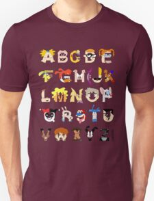 Child of the 90s Alphabet T-Shirt