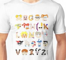 Child of the 90s Alphabet Unisex T-Shirt