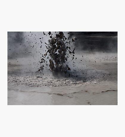 Mud Pools Photographic Print