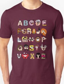 Child of the 00s Alphabet T-Shirt