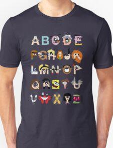 Child of the 00s Alphabet T-Shirt