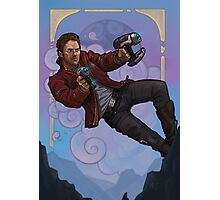 Starlord - Peter Quill portrait  Photographic Print