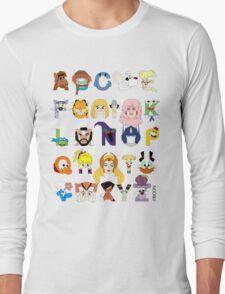 Child of the 80s Alphabet Long Sleeve T-Shirt