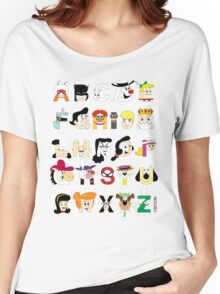 Child of the 60s Alphabet Women's Relaxed Fit T-Shirt