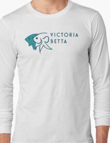 Victoria Betta Logo Long Sleeve T-Shirt