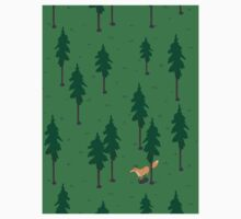 Fox in the woods. Kids Clothes