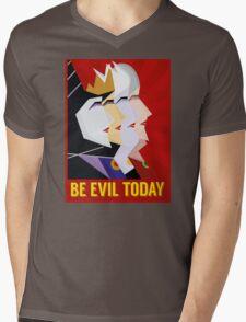 Be Evil Today Mens V-Neck T-Shirt