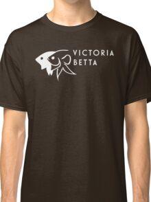 Victoria Betta - White logo Classic T-Shirt